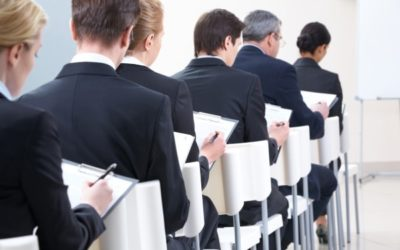 Personnes présentes à un séminaire