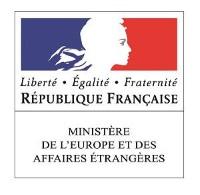Logo Ministère de l'Europe et des Affaires Etrangères